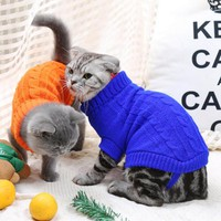 [MPK 10 Years] SWA Cat Sweater, Sweater for Cats And Small Dogs, Cat Clothing, 9 Choices Of Colors + 6 Sizes For Each Color