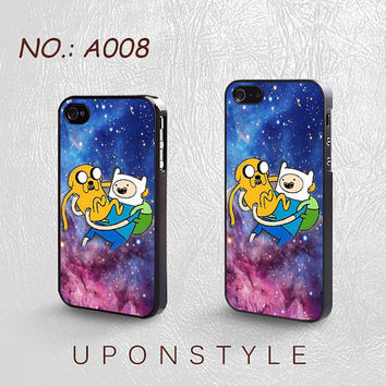 Phone Cases, iPhone 5 Case, iPhone 5s Case, iPhone 4 Case, iPhone 4s case, Adventure Time, iPhone Case, Case for iphone, Case No-008