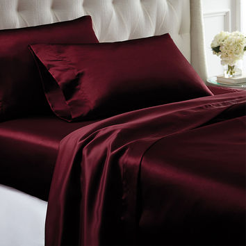 Satin 4-piece Sheet Set