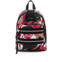 Marc Jacobs Palm Printed Biker Mini Backpack in Pink Multi | REVOLVE