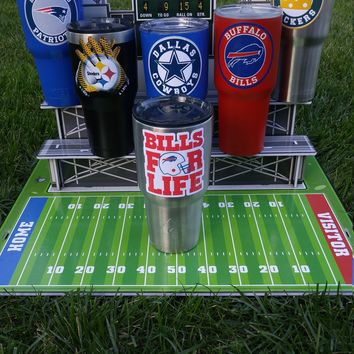 "Bills ""For Life"" YETI Tumbler Decal Sticker Fits 20oz & 30oz Cups/Tumblers/Ramblers Buy 2 Get 1 Free YETI/Ozark Trail/RTIC/iPhone 8 / Note 5"
