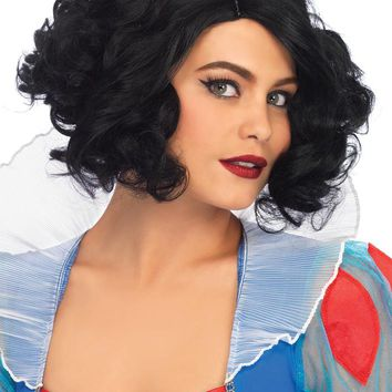 Leg Avenue Curly Bob Wig A2780