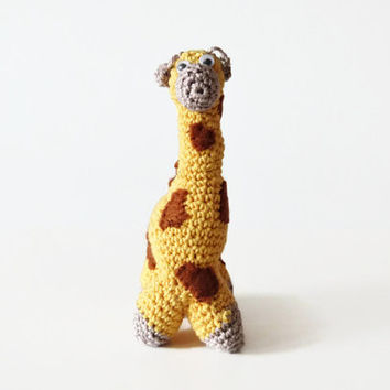 Giraffe Toy Plush, Crochet Amigurumi Stuffed Giraffe Home Decoration