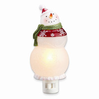 Snow Pattern Snowman Night Light - Perfect Christmas Gift