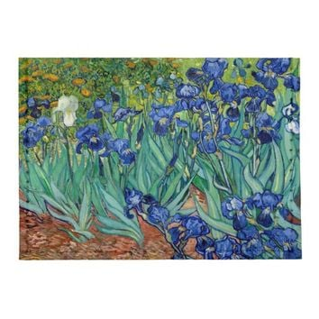 Irises Vincent van Gogh Painting Tyvek Card Wallet