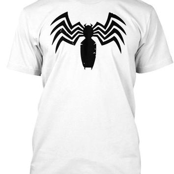 Marvel Graphic Distressed Claw Venom Logo T Shirt