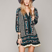 Bow & Arrow Henley Dress