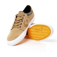 Converse CONS Tre Star Crackle Suede Sand