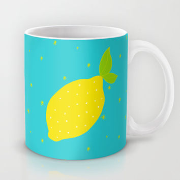 Lemon  Mug by Ariel Lark