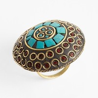 Carole Circle Stone Cocktail Ring (Juniors) (Online Only)