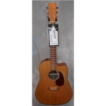 Martin Used Martin DCX1KE Natural Acoustic Electric Guitar | GuitarCenter
