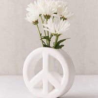 Peace Sign Vase | Urban Outfitters