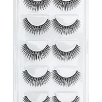 FOREVER 21 Set of Ten Faux Lashes Black One
