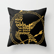The Hunger Games Throw Pillow by StueyKeane