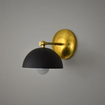 Dome Single Wall Sconce