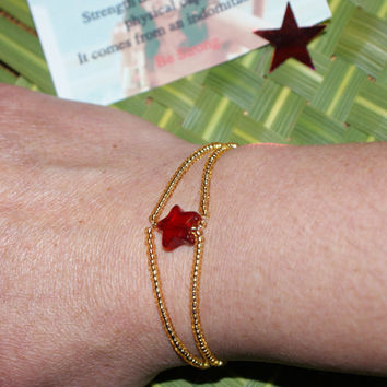 The Every Day Wonder Woman Bracelet Cuff... Superpower your way through your day... Gold or Silver available too...