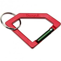 SNOW, SKATE and STREET :: Diamond Supply Co. Carabiner Rock Keychain Red/Green Emerica Big Event!