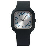 Design Your Own Black Modify Wrist Watch