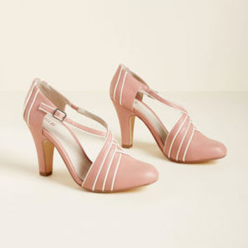 Chelsea Crew Time for Terpsichore Heel in Pink