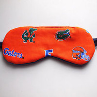 Florida Gators Men's Sleep Eye Mask Satin University Student Guy Gift Night Rest