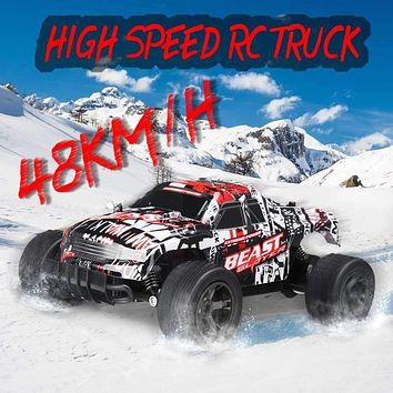 RC Car 48KM/H 2.4ghz 1:20 4WD Remote Control High Speed Off Road Vehicle 4x4
