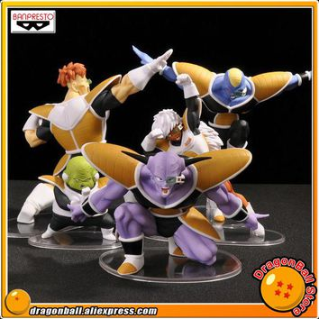 """Dragon Ball Z"" Original BANPRESTO DRAMATIC SHOWCASE 2nd season Collection Figure - Captain Ginyu Burter Jeice Recoom Guldo"