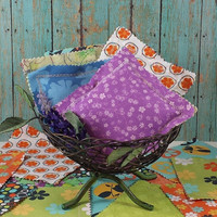HOMEMADE, printed sachet's, French Lavender and Cedar sachets