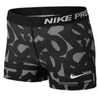 "Nike Pro Printed 3"" Core Compression Shorts - Women's at Lady Foot Locker"