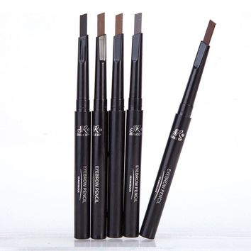 1 Pcs Brand SR MAKE UP Eyebrow Automatic Waterproof Pencil Makeup 5 Styles Paint Eyebrow Pencil Cosmetics Brow Eye Liner Tools