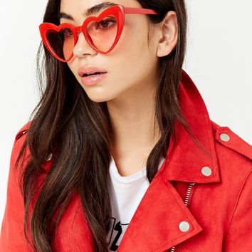 Heart Cat-Eye Sunglasses