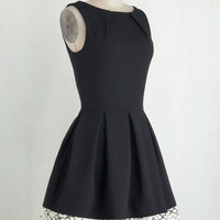 Luck Be a Lady Dress in Black and Lace | Mod Retro Vintage Dresses | ModCloth.com