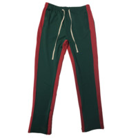 Green/Red Track Pants