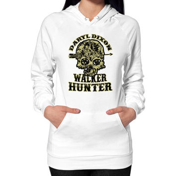Daryl dixon walker hunter Hoodie (on woman)
