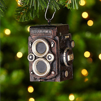 Dillard´s Trimmings Big Top Tidings Vintage Camera Ornament | Dillards