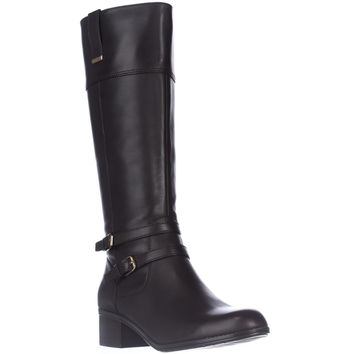 Bandolino Carlotta Knee-High Riding Boots - Dark Brown