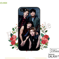 5SOS Phone Cases, iPhone 5/5S/5C Case, iPhone 4/4S Case,  5 seconds of summer Galaxy S3 S4 S5 Note 2 Note 3 Case for iPhone-A064