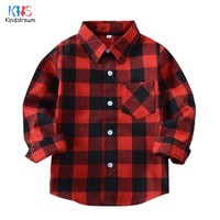 """Seattle"" Kids Plaid Flannel Shirt"