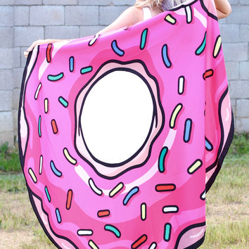 Large Donut Beach Mat