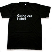 Design Museum Shop: All Products > Clothing + Accessories > Going Out / Emergency T-Shirt