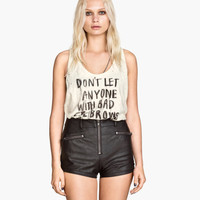Biker Shorts - from H&M