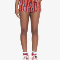 Her Universe Star Wars Solo Striped High-Waisted Shorts