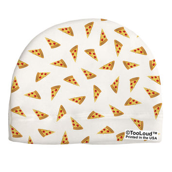 Pizza Slices AOP Adult Fleece Beanie Cap Hat All Over Print