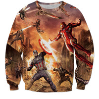 Captain America: Civil War Crew Neck