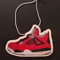 "Air Jordan Retro 4 ""Toro"" Car Freshener"
