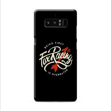 Being First Fox Racing Black Samsung Galaxy Note 8 case