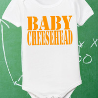 Baby Cheesehead Infant Shirt Lil Packer Fan Newborn Green Bay Packers Tee Little Boys Girls White Pink 0 6 12 18 24 Jumper Bodysuit