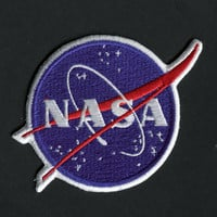Nasa Emblem Iron On Patch