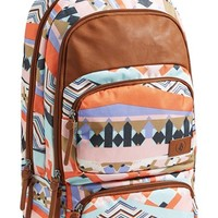 Volcom Deluxe Laptop Canvas Backpack (Juniors)