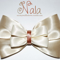 Nala Hair Bow by MickeyWaffles on Etsy