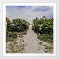 I Want to Take This Path Art Print by Gwendalyn Abrams